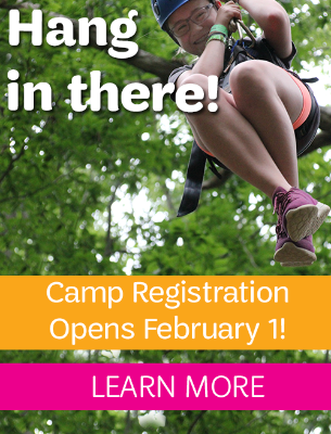 Camp Registration opens February 1!